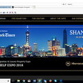 Event (company): 2-day Expo in Shanghai (Mar 22-23)