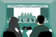 Event (client): Looking for 6 EN<>FR simultaneous interpreters (remote/on-site)