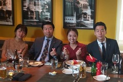 Taux demi-journée (interprète): Dịch đàm phán, ăn tối Anh-Hàn-Việt tại TP. HCM (nửa ngày)