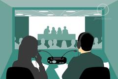 Sự kiện (khách hàng): Looking for 2 EN>>VI remote simultaneous interpreters